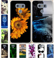 Silicone Cases For LG G6 G 6 H870 5.7 Inch Phone Case For LG G6 Case 3D Pattern Soft TPU Slim Cover For LG G6 Phone Bags Shell