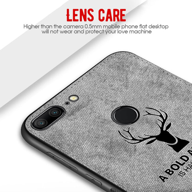 Silicone Cloth Phone Cases For Huawei Mate 20 Mate 10 Pro Protective Shell Cover On For Huawei P20 Lite P10 Plus Nova 3 3i Coque