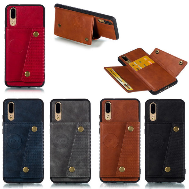 Slim PU Leather Wallet Back Case For Coque Huawei P20 Lite NOVA 3E Card Slots Car Holder Stand Cover Pouch For Huawei P20 Fundas