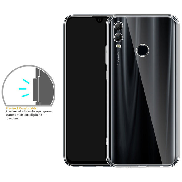 Slim Transparent Case For Huawei Honor 8X Case Soft TPU Silicone Clear Protective Back Cover For Huawei Honor 8x Max Shockproof
