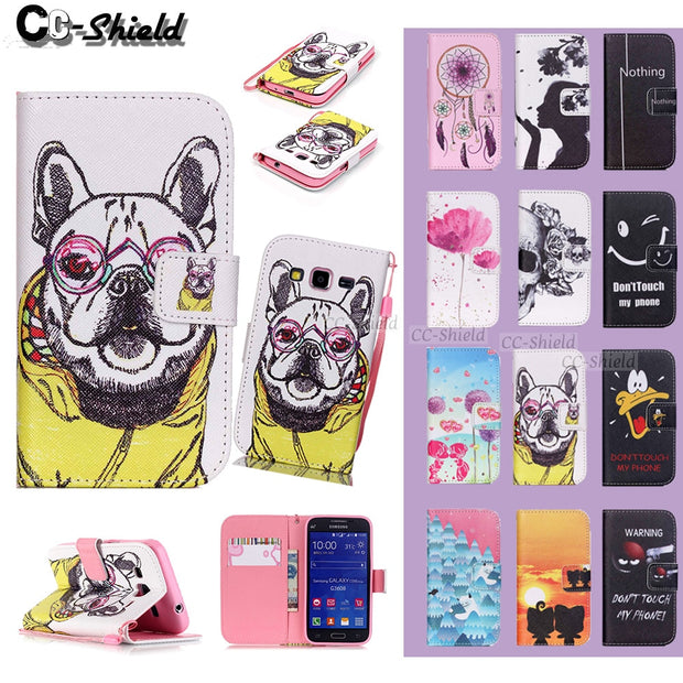 Smartphone Case For Samsung Galaxy Core Prime G360F G360H G360H/DS SM-G360F SM-G360H SM-G360H/DS G361F Leather Wallet Phone Case