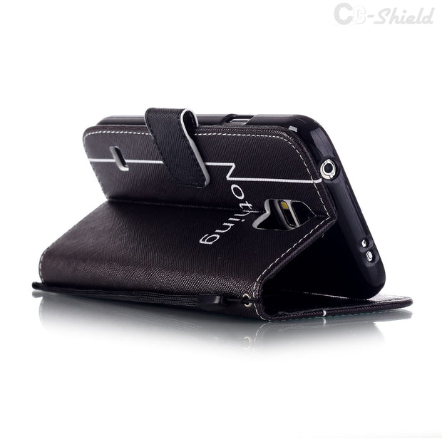 Smartphone Case For Samsung Galaxy S5 S 5 Mini G800F G800H G800A SM-G800F SM-G800H SM-G800A SM-G800Y Leather Wallet Phone Case