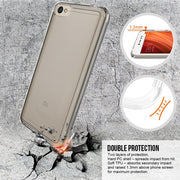 Soft TPU Frame Crystal Durable Shock-Absorption Flexible PC Back Cover Protective Case For Xiaomi Redmi Note 5A/hongmi Note 5A