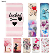 TIPFLY Flip Case For Galaxy A5 2017 J3 2017 J7 PU Leather Filp Wallet Card Holder Cover Coque For Galaxy S8 S8 Plus Cases Capa