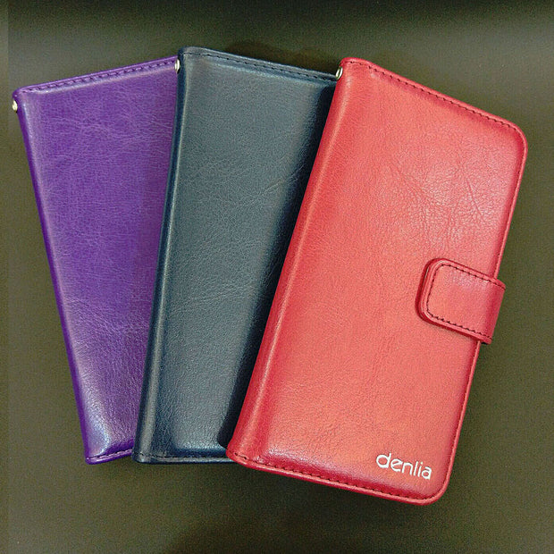 TOP New! Aligator S5050 Duo Case 5 Colors Luxury Leather Case Exclusive Phone Cover Credit Card Holder Wallet+Tracking