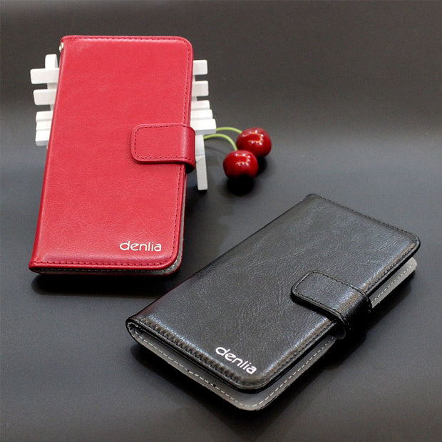 TOP New! Ark Benefit M5 Plus Case 5 Colors Flip Luxury Leather Case Exclusive Phone Cover Credit Card Holder Wallet+Tracking