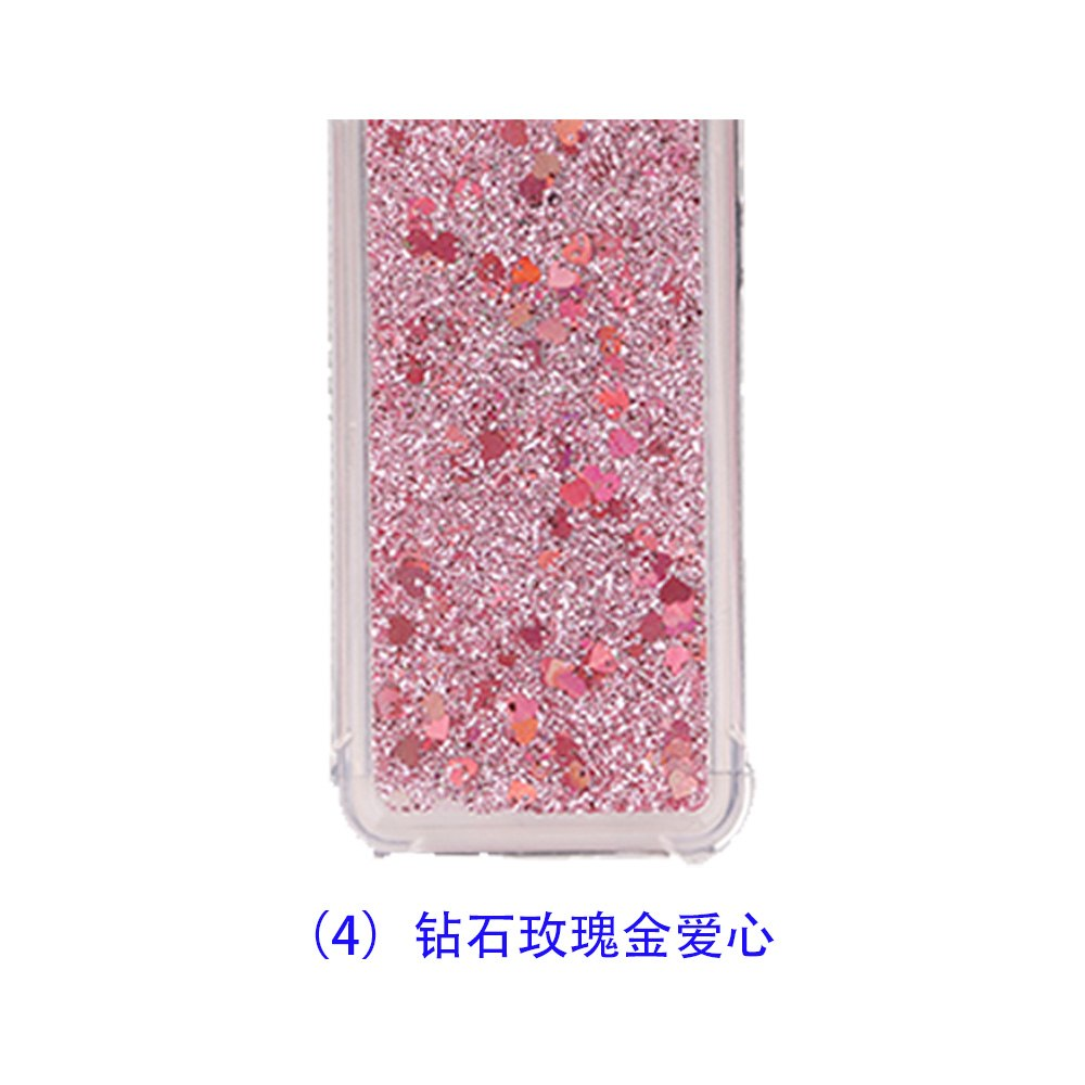 TPU Case For Samsung Galaxy J5 2016 J510 J510H J510F SM-J510F J510FN  SM-J510 Dynamic Flow Liquid Flash Crystal Clear Back Cover