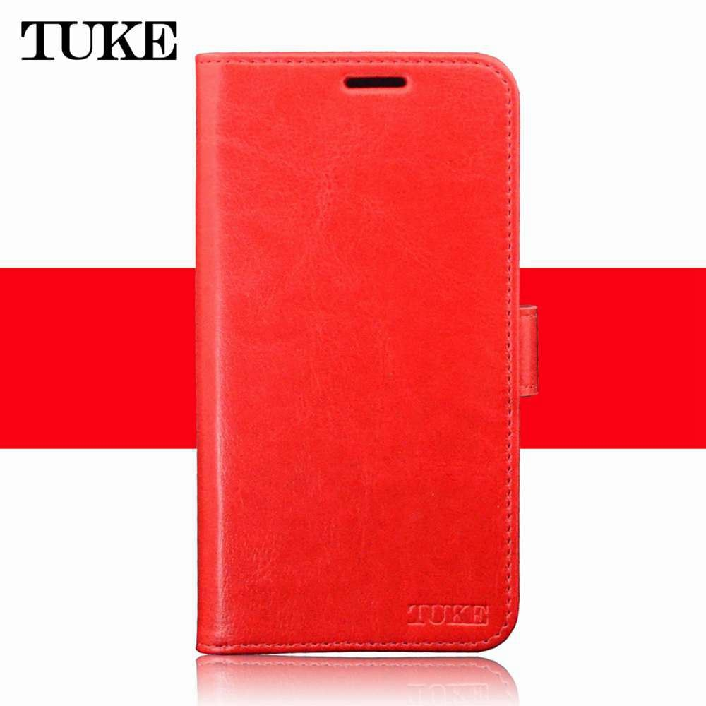 new arrival ad4f3 eb552 TUKE Alcatel 3C Case Alcatel 5026D Case Flip Luxury PU Leather Phone Case  For Alcatel 3C 5026D 5026 5026A Alcatel 3 C Case