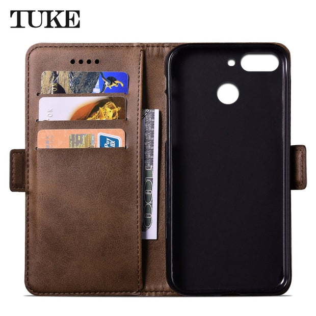 TUKE Cover For ZTE Blade V9 Leather Flip Fundas Case For Coque ZTE Blade V9 Cover Cases For ZTE V 9 Case