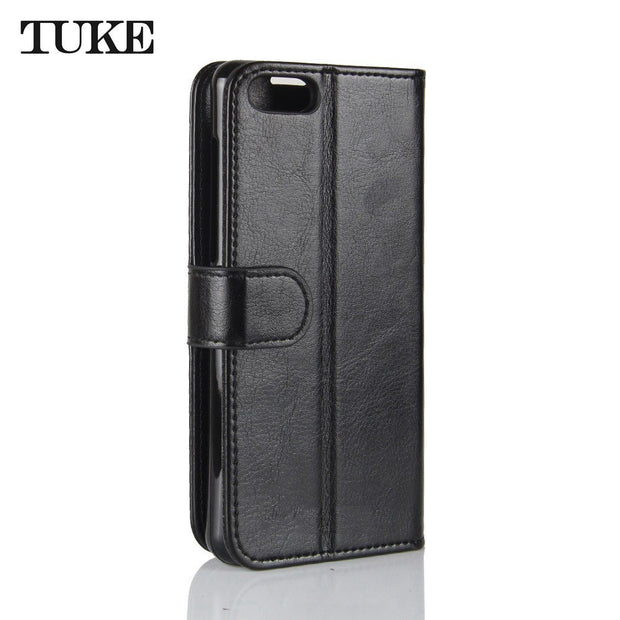 TUKE For ASUS Zenfone 4 Max ZC520KL Live L1 ZA550KL Cover Case Flip Leather Luxury Funda Silicon Back Case For Asus ZC520KL Capa