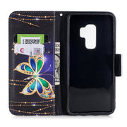 TopArmor Colorful Case For Samsung Galaxy S9 PU Leather Flip Wallet Shell For Samsung Galaxy S9 Plus Stand Card Slots Phone Case