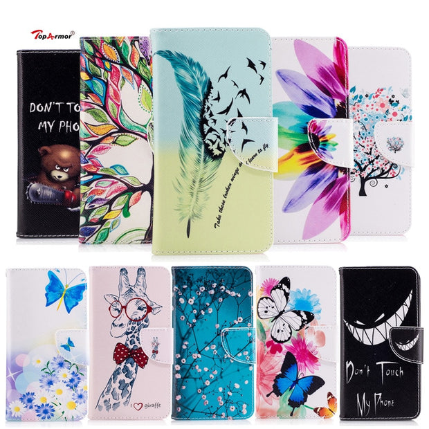 TopArmor For Xiaomi 6 Case Bags For For Xiaomi Mi 6 5.15 Inch PU Leather Cover Flip Stand Shell For Xiaomi Mi 6 Phone Case Coque