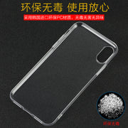 Transparent Crystal Clear Slim Fullbody Protective Hard PC Case For IPhone X