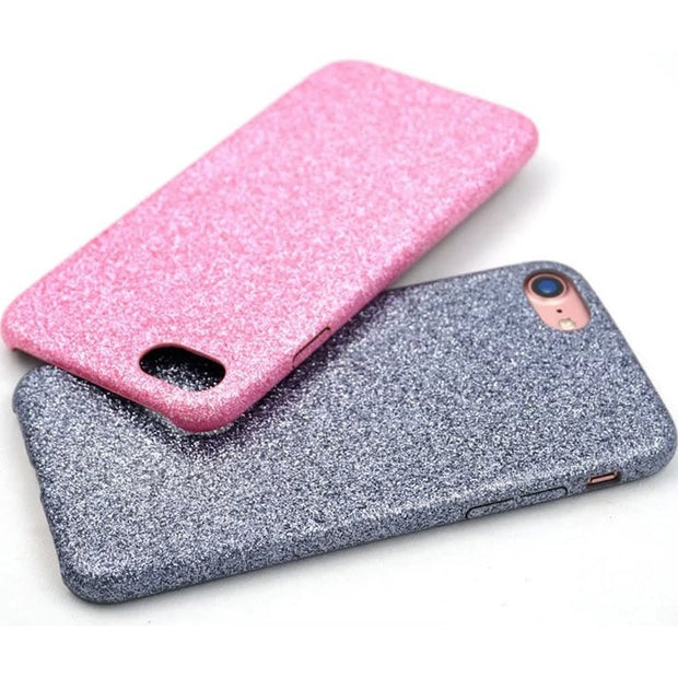 UVR Luxury Glitter Sparkle Rose Gold Purple Silver Black Case Coque For IPhone 5 5S 6 6S Plus 7 Plus Coque Ultra Thin Soft Cover