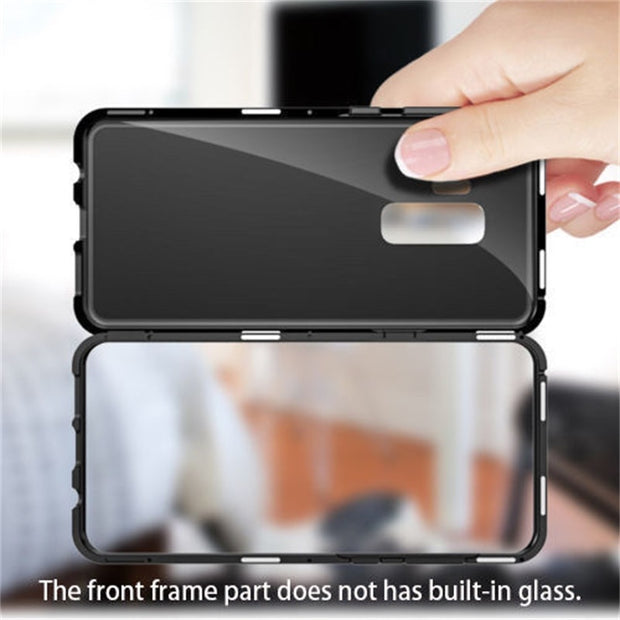 release date: d8bcc 88f1d Ultra Magnetic Adsorption Phone Case For Samsung Galaxy S8 S8 Plus Coque  Luxury Magnet Glass Cover Fundas For Galaxy S9 Plus
