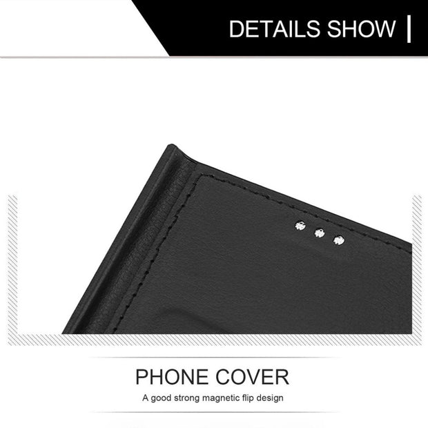 Ultra Slim Mobile Phone Case Premium Soft PU Leather Dropped Proof Protective Phone Cover For Samsung Note8 Precise Size