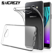 Ultra Thin Clear Soft TPU Silicone Case For Samsung Galaxy A3 A5 A7 2016 Bumper Protective Cover
