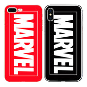Ultra Thin TPU Silicon Durable Soft Transparent Clear Back For IPhone 4 4S 5 5S 5C SE 6 6S 7 8 Plus X Case Marvel Phone Cover