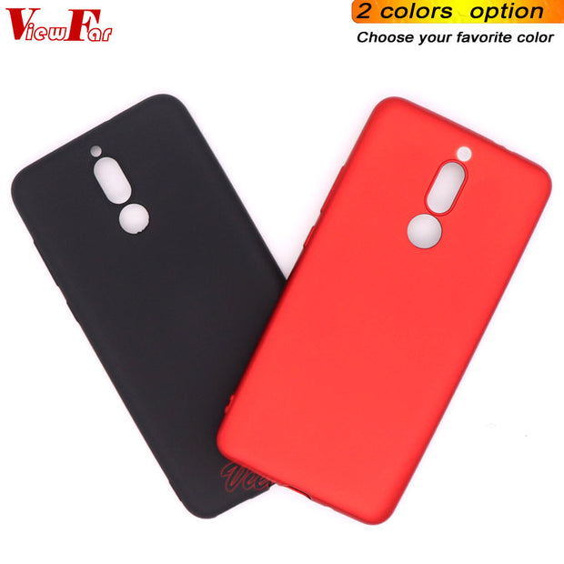 Viewfar Red Case For Huawei Maimang 6 Mate 10 Lite Nova 2i Honor 9i Covers Maimang6 Mate10lite Nova2i Hono9i Soft TPU Black Gel