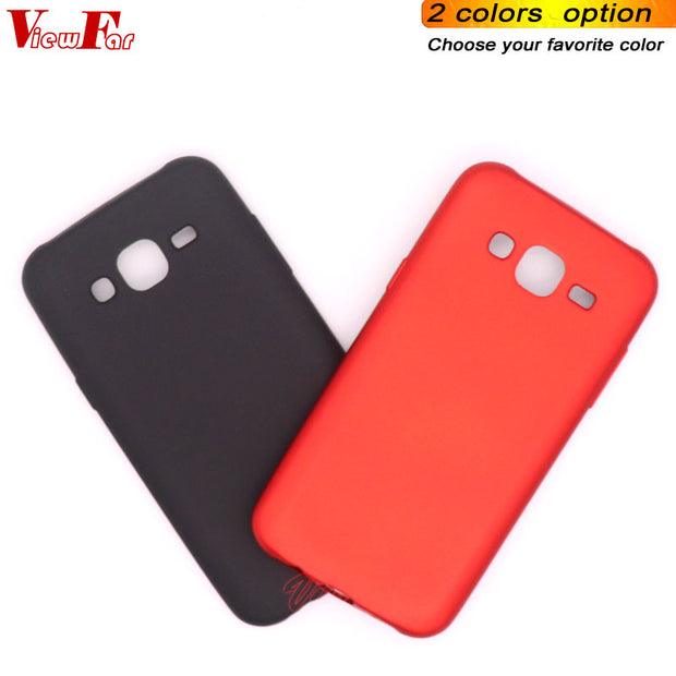 Viewfar Red Case For Samsung Galaxy J52015 J5 J5core Cover SamsungJ5 Core 2015 Soft TPU Cases New Black Plastic Gel Anti Fall