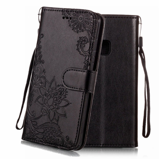 Wallet Case For Huawei P10 P9 P8 Lite Flip Leather Cover Luxury Stand Phone Case For Huawei P10 Lite Case Cover