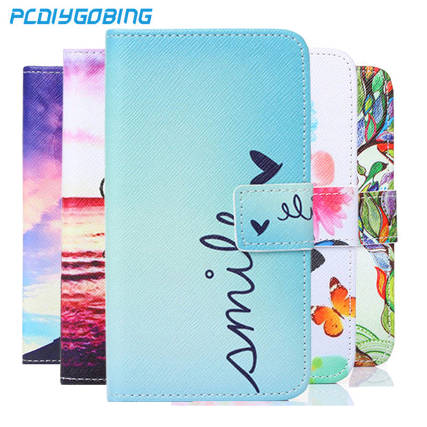 Wallet Painted Book Stand Flip Leather Case For Xiaomi Redmi 4 Prime Redmi 4 Pro Card Wolf Rose Owl Effiel Tower Case Cover