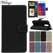 Wekays Case For Huawei Ascend Mate 9 Mate9 Black Business Matte Leather Flip Fundas Case SFor Huawei Enjoy 6 Enjoy6 Cover Cases