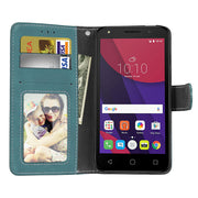 Wekays For Alcatel One Touch Go Play Black Business Matte Leather Flip Fundas Case SFor Alcatel Go Play 7048 7048X Cover Cases