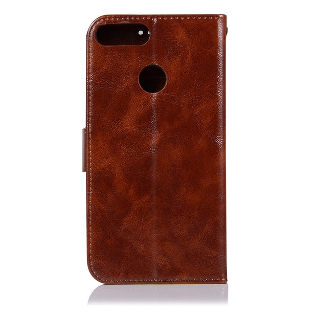 With Lanyard PU Leather Case Phone Bags For Asus Zenfone Max Plus (M1) ZB570TL Cover Kickstand Flip Cases TPU Back Cover