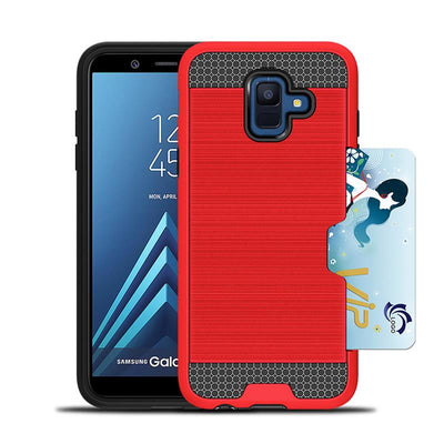 XSKEMP Cover Case For SAMSUNG Galaxy A9 2016 A9000 Silicone Rugged Hybrid Heavy Duty Shockproof Armor Cover With Tempered Glass