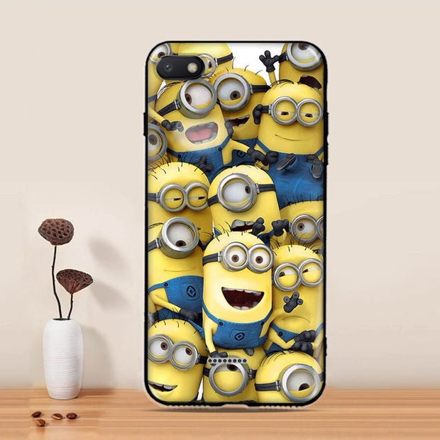 Xiaomi Redmi 6 6A 6 Pro Case 3D Camera Calculator Cat Capa Brand Printing Soft TPU Silicone Phone Back Cover Shell Fundas
