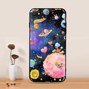 Xiaomi Redmi 6 6A 6 Pro Case 3D Printing Starry Minions Capa Brand Printing Soft TPU Silicone Phone Back Cover Shell Fundas 6A