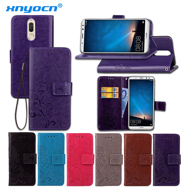 Xnyocn For Huawei Mate 10 Lite Case For Huawei Nova 2i Case Luxury Leather Protective Skin Back Cover For Honor 9i Phone Cases