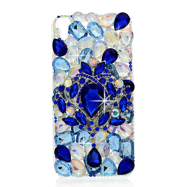 YOKIRIN 3D Rhinestone Case For Huawei Y6 Scale Luxury Glitter Bling Crystal Diamond Protective Shell Cover For Huawei Y6 Scale