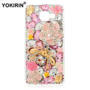 YOKIRIN 3D Rhinestone Case For Samsung Galaxy A3 (2016) Glitter Bling Crystal Diamond Protective Shell Cover For Samsung A3100