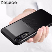 Yeuzoe Fashion Cover For Huawei P20 Pro Case Full Luxury Soft TPU Silicone+Hard PC Back Cover For Huawei P20 Lite Nova 3E Case