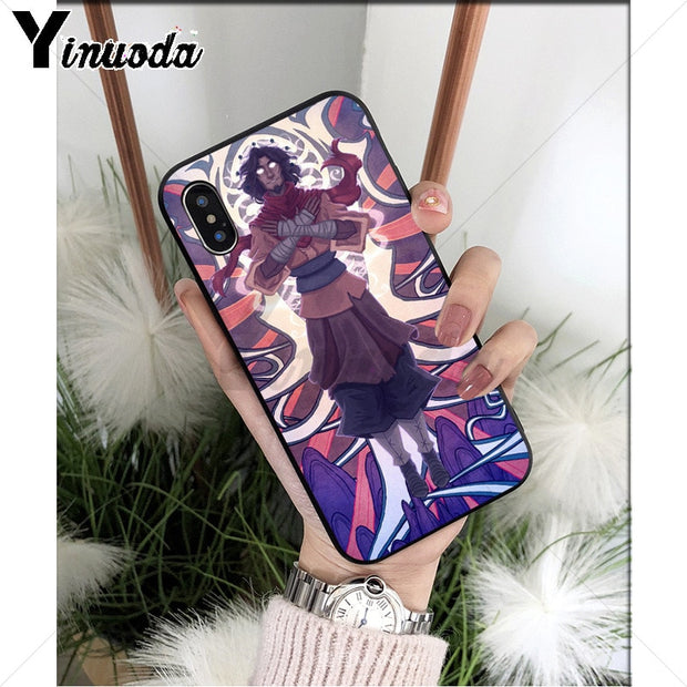 Yinuoda Avatar The Last Airbender Monk Black High Quality Phone Case For IPhone 8 7 6 6S Plus X XS MAX 5 5S SE XR Cellphones