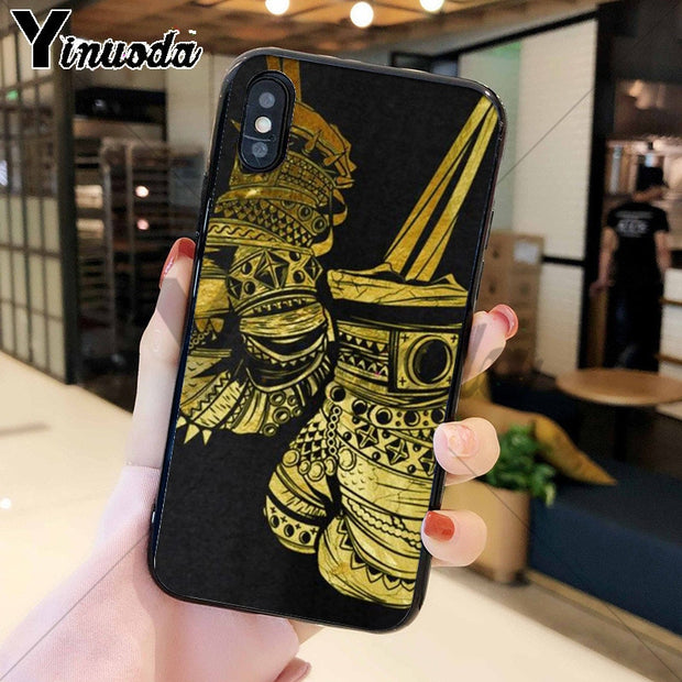 Yinuoda Boxing Gloves Boxing TPU Soft Phone Accessories Cell Phone Case For Apple IPhone 8 7 6 6S Plus X XS MAX 5 5S SE XR