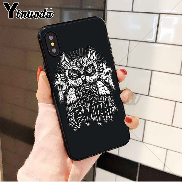Yinuoda Bring Me The Horizon Silicone Soft TPU Phone Case Cover Shell For IPhone 8 7 6 6S Plus X XS MAX 5 5S SE XR Cellphones
