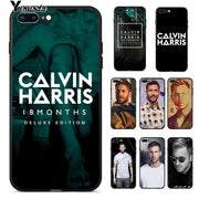 Yinuoda Calvin Harris High Quality Soft TPU Phone Case Cover For IPhone 8 7 6 6S Plus 5 5S SE XR X XS MAX Coque Shell