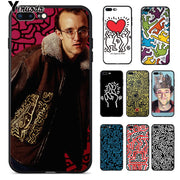 Yinuoda Keith Haring Art High Quality Silicone Soft TPU Phone Case For IPhone 8 7 6 6S Plus 5 5S SE XR X XS MAX Coque Shell
