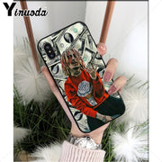 Yinuoda Lil Pump TPU Soft Phone Accessories Cover Case For IPhone 8 7 6 6S Plus 5 5S SE XR X XS MAX Coque Shell