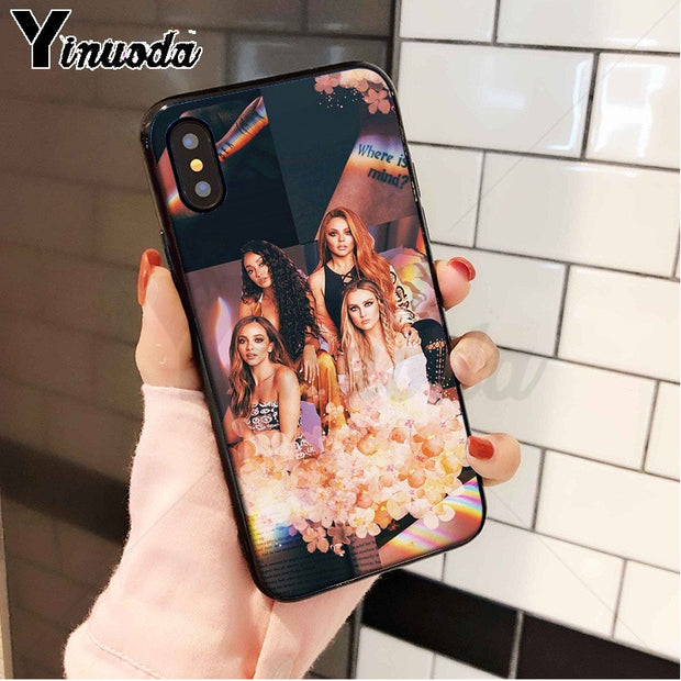 Yinuoda Little Mix Girl Power Lovely Design Phone Accessories Case For Apple IPhone 8 7 6 6S Plus X XS MAX 5 5S SE XR Cellphones