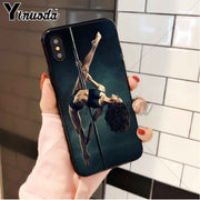 Yinuoda Pole Dance Dancing Fitness Hot Selling High Quality Phone Case For IPhone 8 7 6 6S Plus 5 5S SE XR X XS MAX Coque Shell