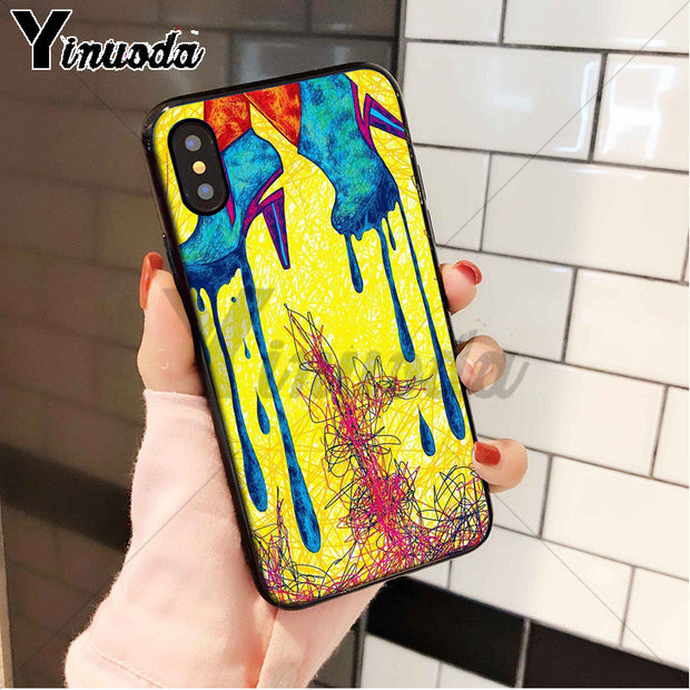 Yinuoda Sexy High Heel Silicon Soft TPU Phone Case Cover Shell For Apple IPhone 8 7 6 6S Plus X XS MAX 5 5S SE XR Cover