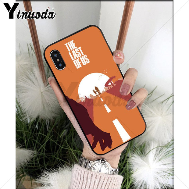 Yinuoda The Last Of Us Part Popular Design Case Cover Shell For IPhone 8 7 6 6S Plus 5 5S SE XR X XS MAX Coque Shell