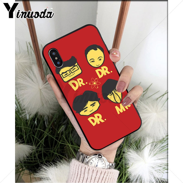 coque iphone 8 the big bang theory