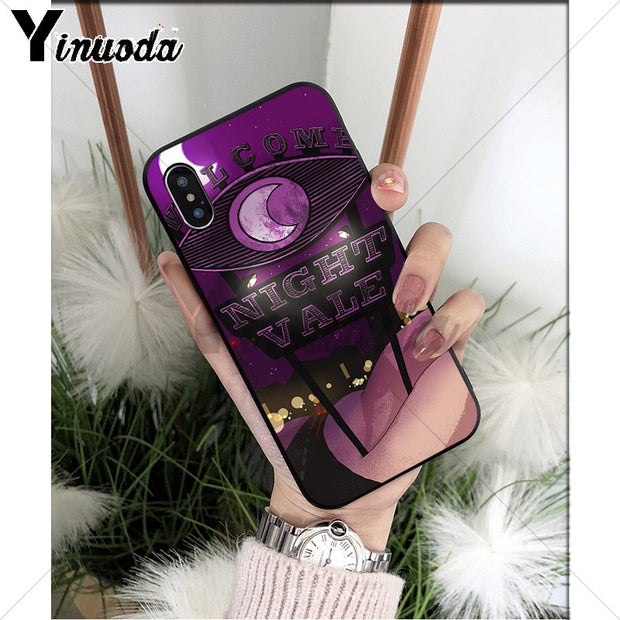 Yinuoda Welcome To Night Vale Art Customer High Quality Phone Case For IPhone 8 7 6 6S Plus 5 5S SE XR X XS MAX Coque Shell