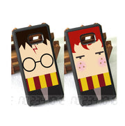 Cute Cartoon BFF Best Friends Love Pair TPU Cases For Samsung S5 S6 S6edge Plus S7 S7edge S8 S8plus S9 S9plus Note5 Note8 Note9