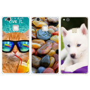 For Huawei P8 P9 Mini Mate 10 P10 Lite 2017 Case Cute Dog Cat Coque Back Durable Ultra Thin Originality Luxury Soft Phone Cover